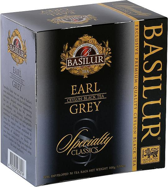 Basilur Tea Specialty Earl Grey (50 Beutel)