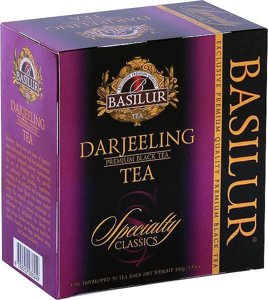 Basilur Tea Spezialität Darjeeling Hülle 50x2g