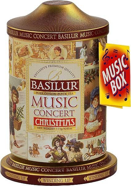 Basilur Tea Christmas Music Concert (Blechdose)
