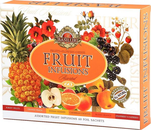 Basilur Tea Fruit Infusions Assorted