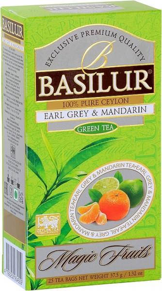 Basilur Tea Magic Fruits Earl Grey & Mandarin (25 Beutel)