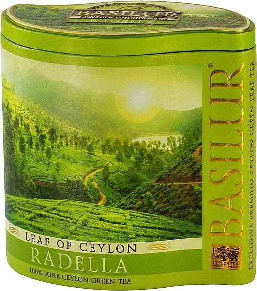 Basilur Tea Leaf of Ceylon – Radella (Blechdose)