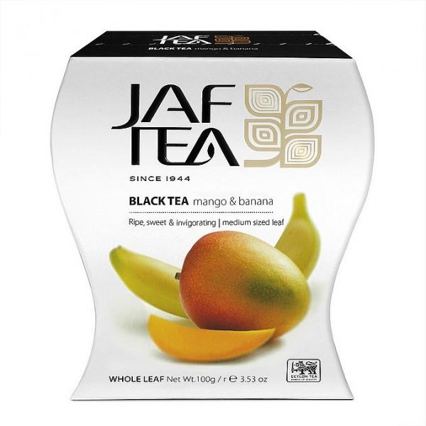 Jaf Tea Mango & Banana schwarzer loser Tee