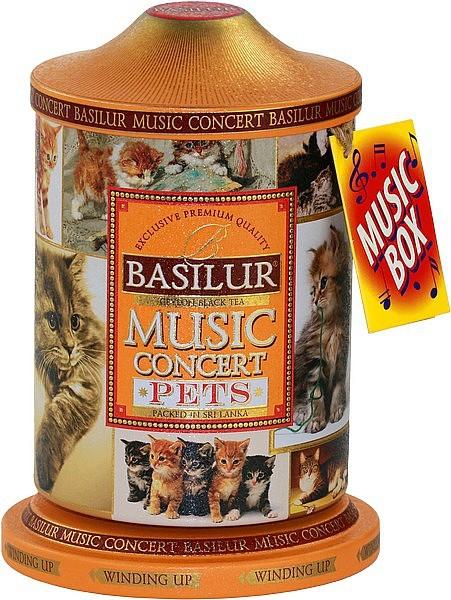 Basilur Tea Music Concert Pets (Blechdose mit Musik)