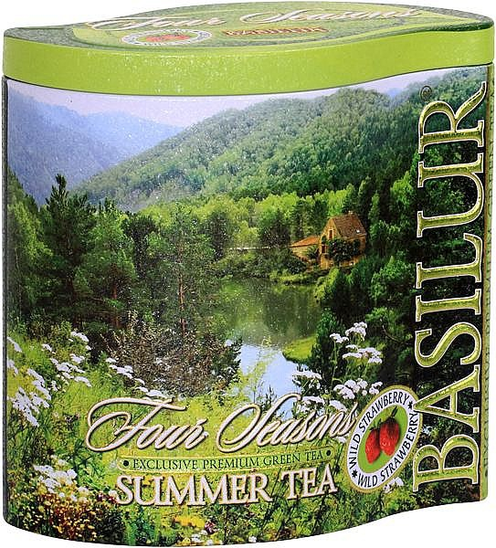 Basilur Tea Four Seasons Summer Tea (Blechdose)