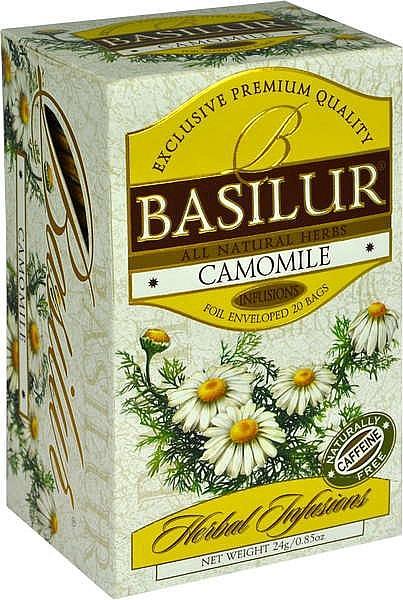 Basilur Tea Herbal Infusions Camomile (20 Beutel)