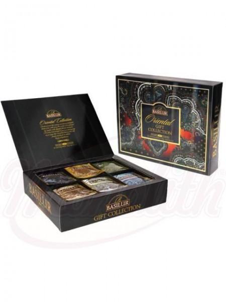 Basilur Tea 6 Sorten Oriental Gift Collection Teebox (60 Beutel)