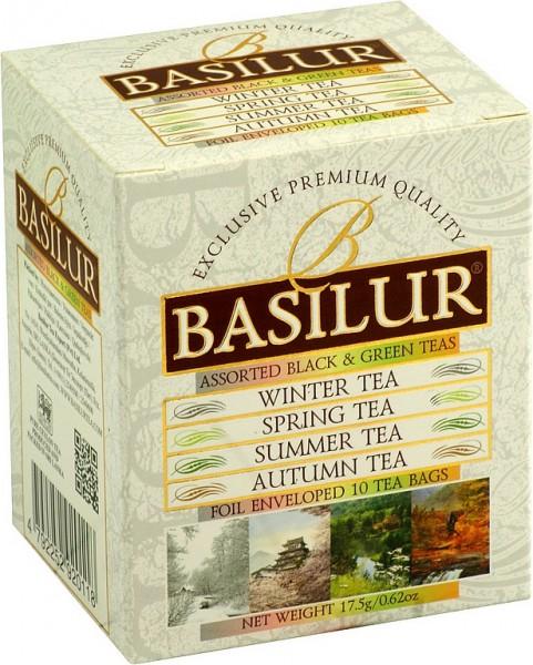 Basilur Tea Assorted Black & Green Teas (10 Beutel)