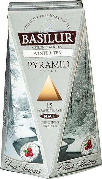 Basilur Tea Winter Tea Pyramid (15 Beutel)