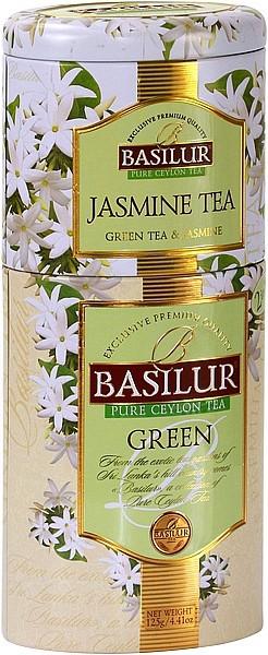 Basilur Tea Green Jasmine Tea (Blechdose)