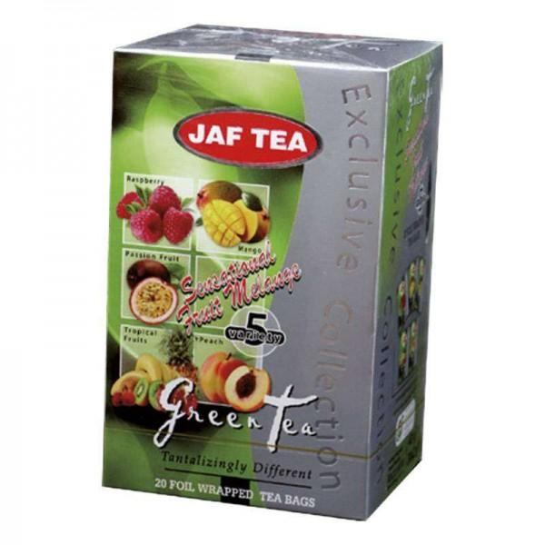 Jaf Tea Sensationelle Mischung grün 5 Sorten (20 Beutel)