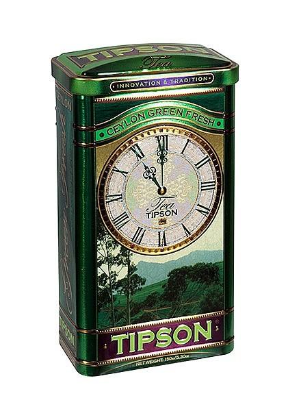 Tipson Tea Ceylon Green Fresh (Blechdose)