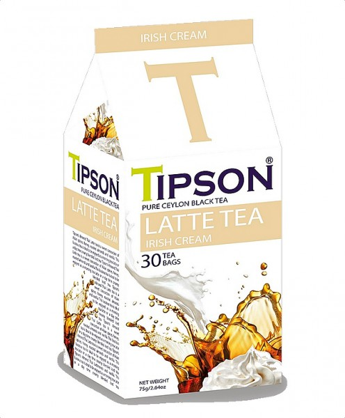 Tipson Tea Latte Tea Irish Cream
