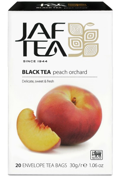 Jaf Tea Peach Orchard (20 Beutel)