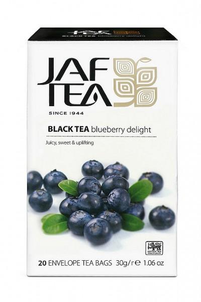 Jaf Tea Blueberry Delight schwarzer Tee 20 Folienbeutel x 1,5g