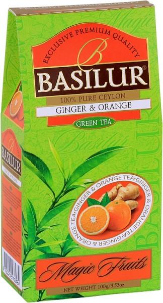 Basilur Tea Magic Fruits Ginger & Orange (Karton)