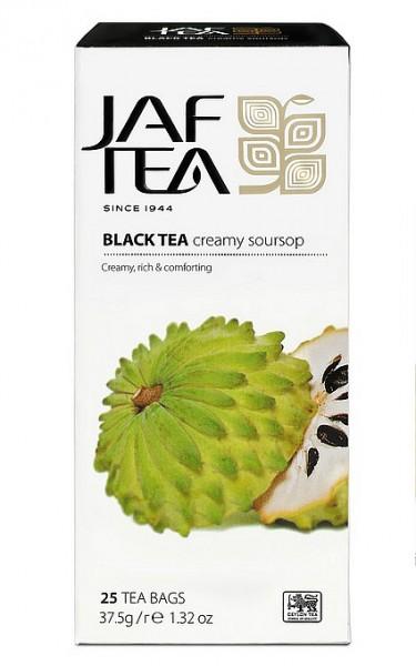 Jaf Tea Creamy Soursop schwarzer Tee 25 Beutel x 1,5g