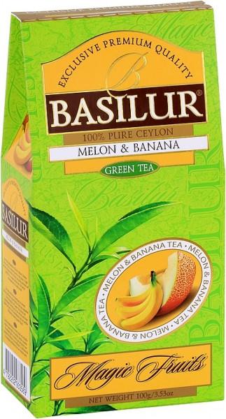 Basilur Tea Magic Fruits Melone & Banana (Karton)
