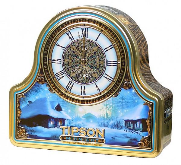 Tipson Tea Clock Midnight schwarzer loser Tee
