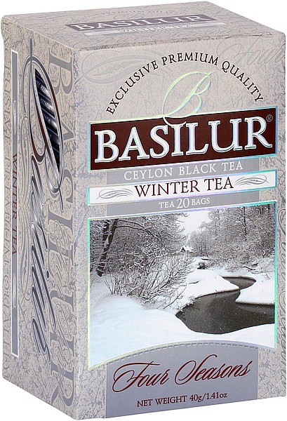 Basilur Tea Four Seasons Winter Tea (20 Beutel)