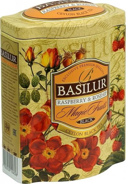 Basilur Tea Magic Fruits Raspberry & Rosehip (Blechdose)