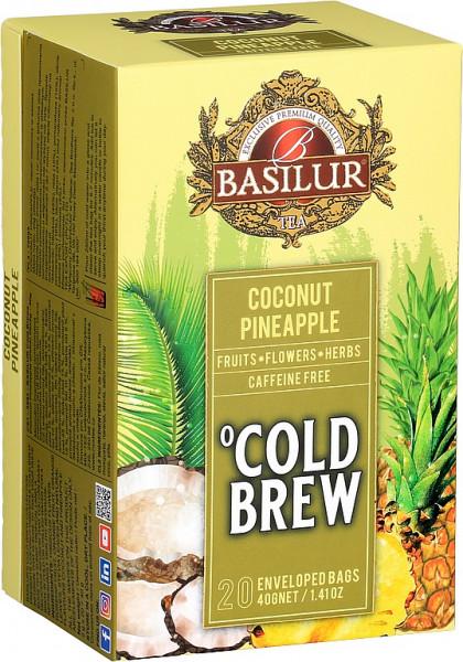 Basilur Tea Cold Brew Kokosnuss Ananas Abdeckung 20x2g