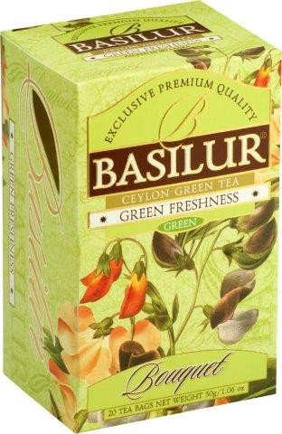 Basilur Tea Bouquet – Green Freshness (20 Beutel)