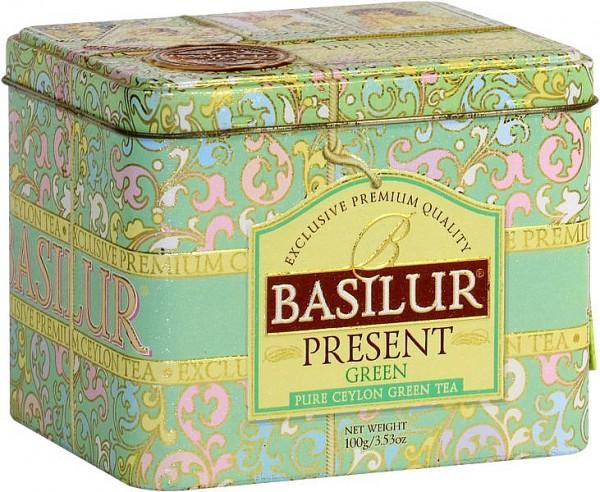 Basilur Tea Present Green (Blechdose)