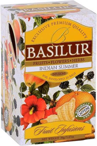 Basilur Tea Fruit Infusions Indian Summer (20 Beutel)