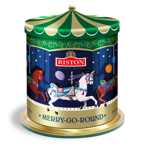 Riston Tea schwarzer Tee - Merry-Go-Round