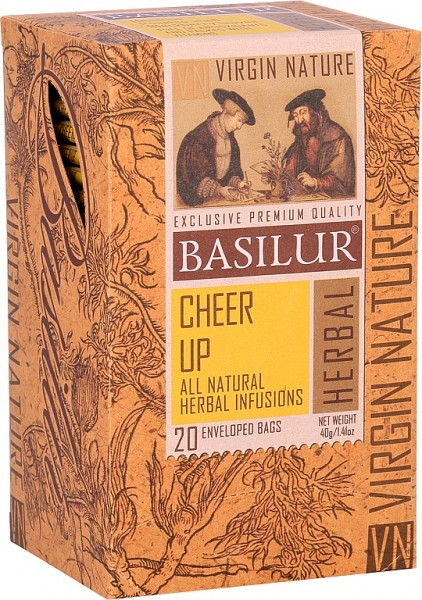 Basilur Tea Cheer Up 20 x 2g