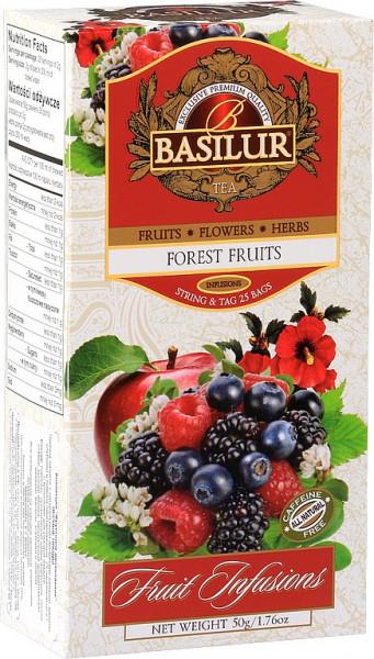 Basilur TeaObstwald Früchte 25x2g 50g