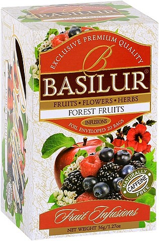 Basilur Tea Fruit Infusions Forrest Fruits (20 Beutel)