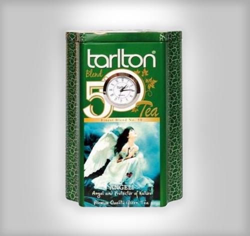 Tarlton Tea Angeli Tea lose grüner Tee mit Quartz Uhr