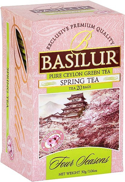 Basilur Tea Four Seasons Spring Tea (20 Beutel)
