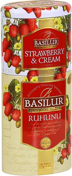 Basilur Tea Ruhunu Strawberry & Cream (Blechdose)