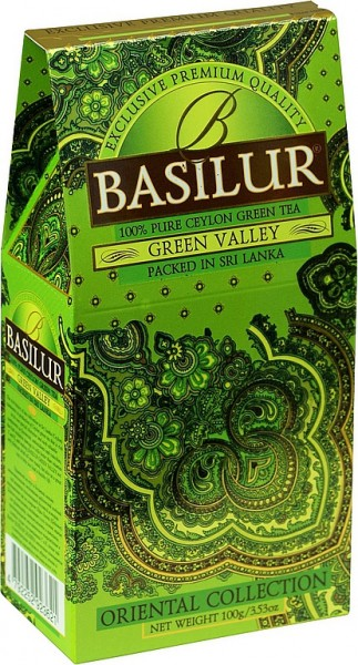Basilur Tea Oriental Collection – Green Valley (Karton)