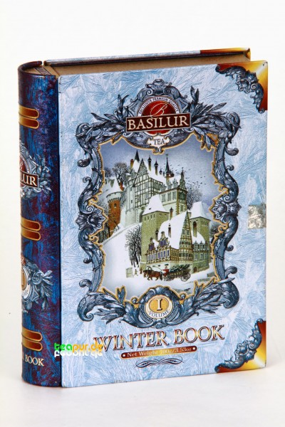 Basilur Tee Winter Book Volume 1 (Blechdose)