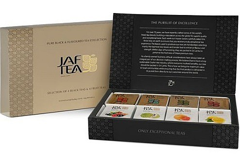Jaf Tea Pure Black & Flavoured, 80 Stück
