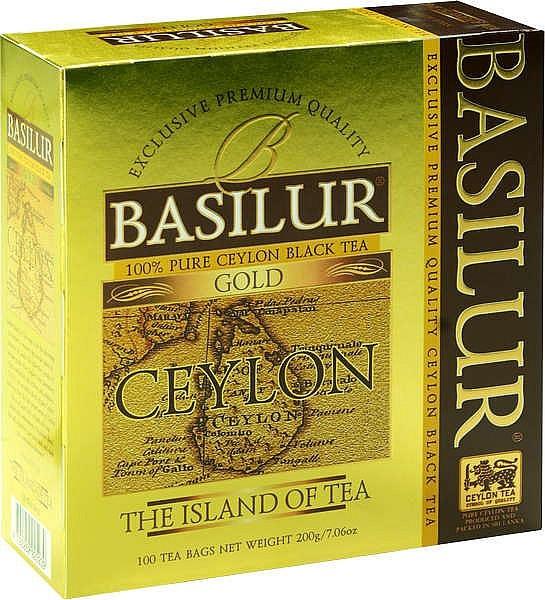 Basilur Tea schwarzer Tee Gold 100 Beutel x 2g