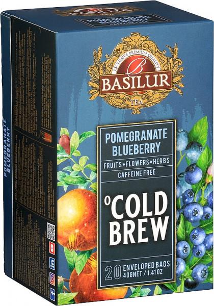 Basilur Tea Cold Brew Granatapfel Blaubeer Abdeckung 20x2g