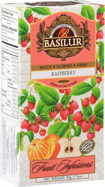 Basilur TeaFruit Raspberry hat 25x2g 50g.
