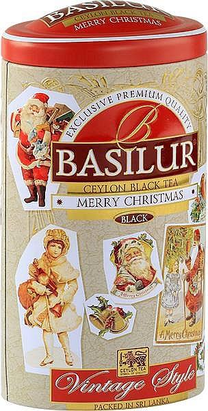 Basilur Tea Merry Christmas schwarzer loser Tee