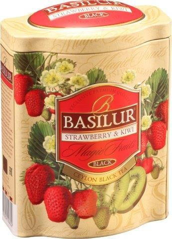 Basilur Tea Magic Fruits Strawberry & Kiwi (Blechdose)