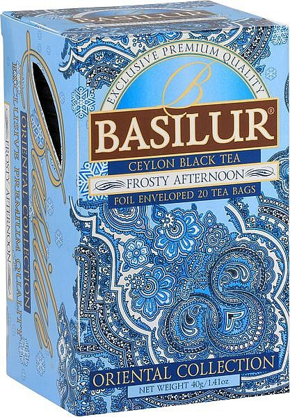 Basilur Tea Oriental Collection Frosty Afternoon (20 Beutel)