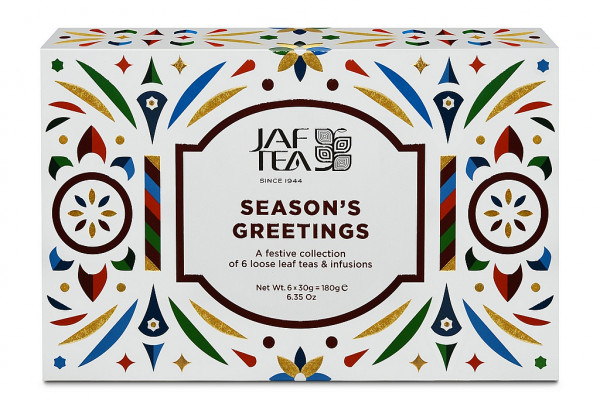 Jaf Tea Box Seasons Greeting