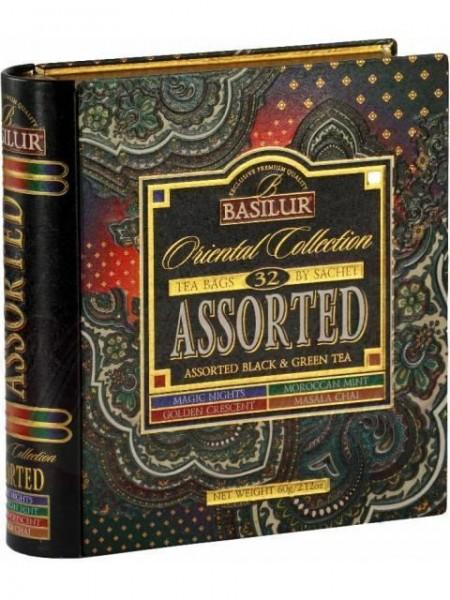 Basilur Tea Book Oriental Collection (32 Beutel)