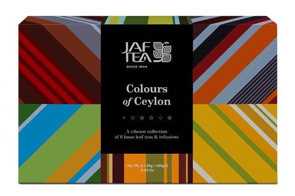 Jaf Tea Box Colors of Ceylon