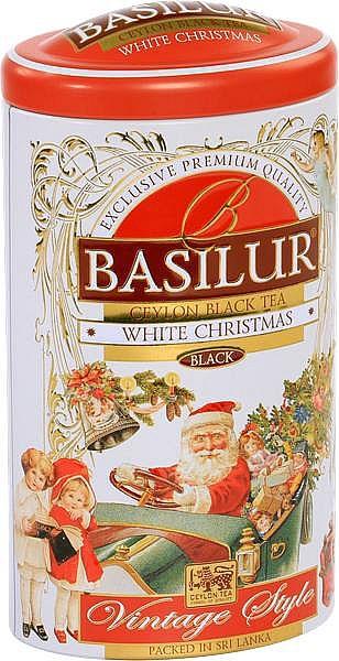 Basilur Tea White Christmas schwarzer loser Tee
