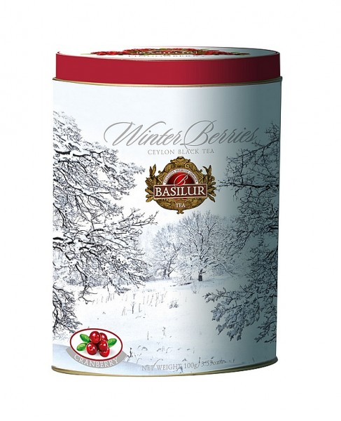 Basilur Tea Winter Cranberries schwarzer loser Tee